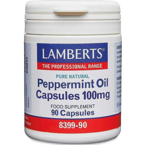 LAMBERTS Peppermint Oil Capsules 100mg