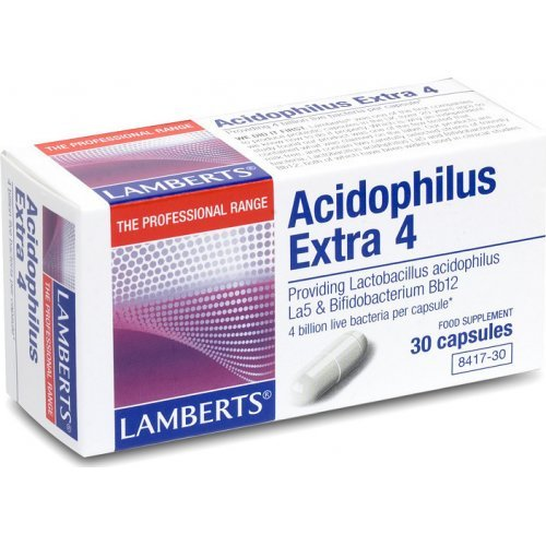 ACIDOPHILUS EXTRA 4 (MILK FREE) 30CAPS