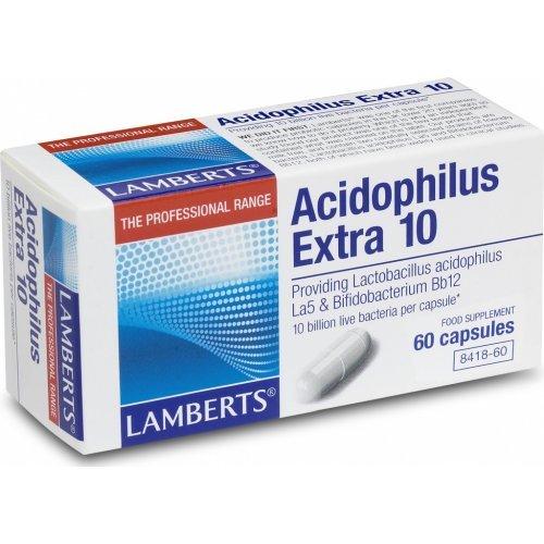LAMBERTS ACIDOPHILUS EXTRA 10 (MILK FREE) 60CAPS