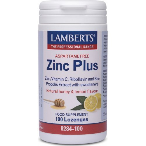 LAMBERTS Zinc Plus Lozenges