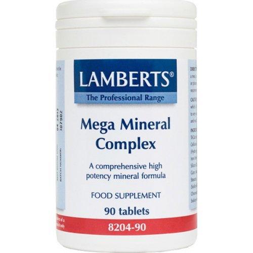 Lamberts Mega Mineral Complex Σκεύασμα με Μέταλλα και Ιχνοστοιχεία 90 ταμπλέτες