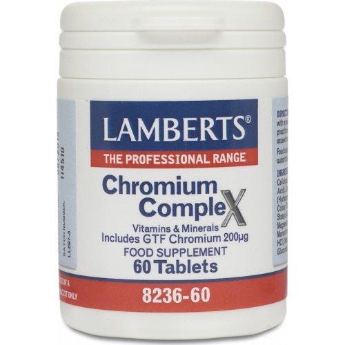 Lamberts Chromium Complex 200μg 60 ταμπλέτες