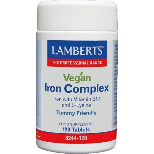 Lamberts Vegan Iron Complex 120 κάψουλες