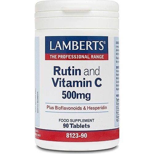 Lamberts Rutin & C-500 & Bioflavonoids 90 ταμπλέτες