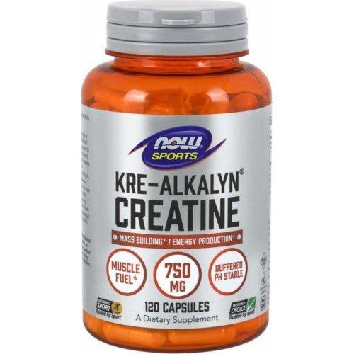 NOW KRE-ALKALYN CREATINE 120 Κάψουλες