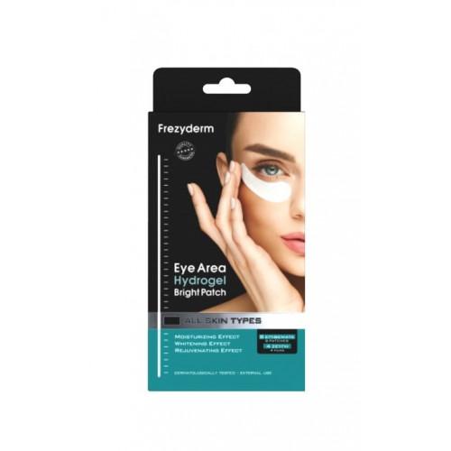 Frezyderm Μάσκα Ματιών για Λάμψη 4 ζεύγη (8τμχ) Hydrogel Bright Eye Patch