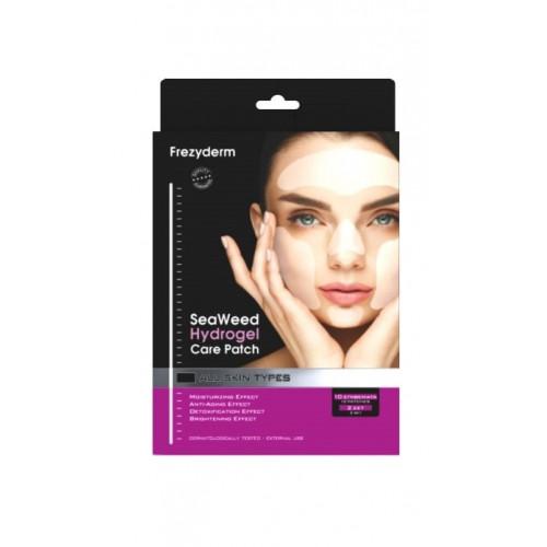 Frezyderm Μάσκα Προσώπου για Αντιγήρανση και Ενυδάτωση 2 σετ μάσκας (10τμχ)  Seaweed Hydrogel Care Eye Patch