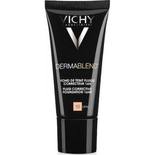 VICHY Διορθωτικό make-up υψηλής κάλυψης Dermablend Correcteur Nο.15 Opal SPF35 30 ml