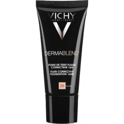 VICHY Διορθωτικό make-up υψηλής κάλυψης Dermablend Correcteur Nο.25 Nude SPF35 30 ml