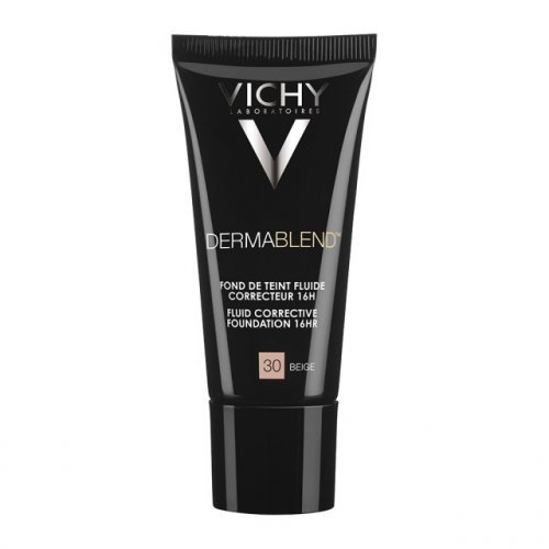 VICHY DERMABLEND CORRECTEUR FDT Beige 30 - Διορθωτικό make-up με εύπλαστη υφή 30ml, SPF35
