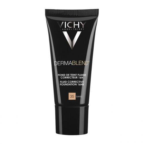 VICHY Διορθωτικό make-up υψηλής κάλυψης Dermablend Correcteur Nο.35 Sand SPF35 30 ml