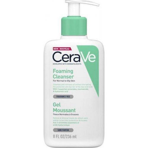 CeraVe Foaming Cleanser Καθαριστικό Gel Προσώπου και Σώματος 236ml