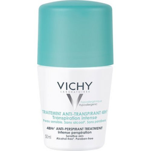 VICHY 48ωρη Εντατική Αποσμητική Φροντίδα Deodorant Intensive Anti Perspirant 50ml
