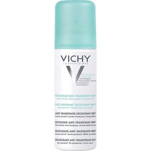 VICHY 48Ωρη Αποσμητική Φροντίδα και Έντονη Εφίδρωση Anti-perspirant Deodorant 48h Spray 125ml