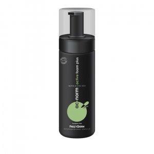 FREZYDERM AC-NORM ACTIVE FOAM PLUS Αφρός καθαρισμού προσώπου για λιπαρό δέρμα με τάση ακμής 150ml