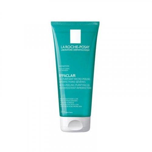 La Roche Posay Effaclar Gel Purifiant Micro Peeling Τζελ Καθαρισμού Προσώπου 200ml