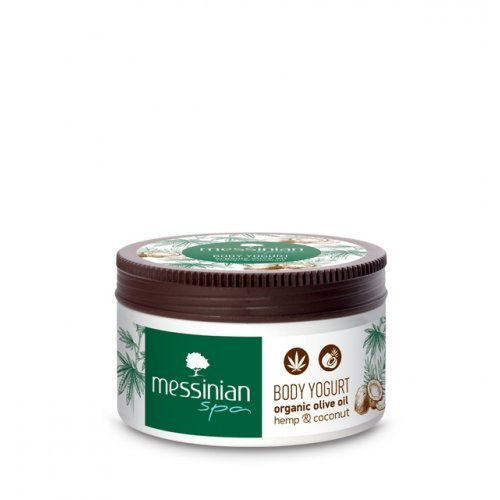 Messinian Spa Body Yogurt Hemp & Coconut 250ml