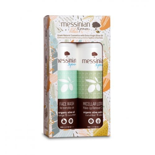 Messinian Spa Cucumber Face Wash Set