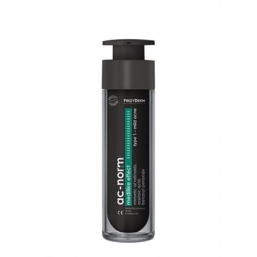 AC-NORM MEDILIKE EFFECT 1 CREAM Εξειδικευμένη κρέμα για συμπτώματα ήπιας ακμής 50ml