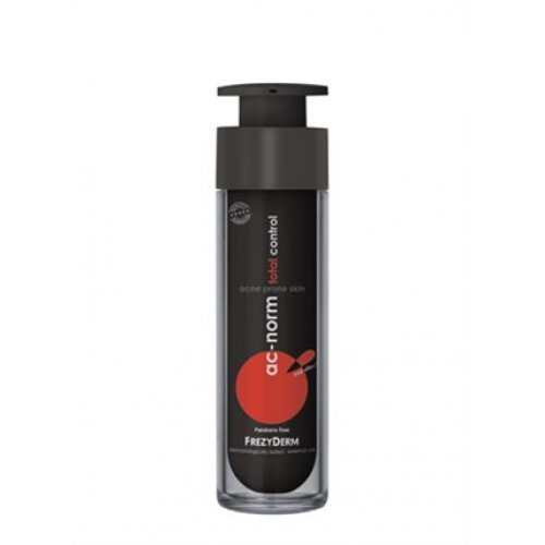 AC-NORM TOTAL CONTROL CREAM - Εξειδικευμένη κρέμα για συμπτώματα ακμής 50ml