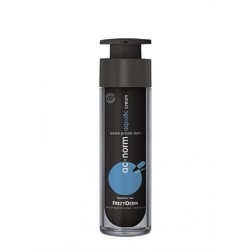FREZYDERM AC-NORM AQUATIC CREAM Ενυδατική κρέμα υπό φαρμακευτική αγωγή δέρματος 50ml