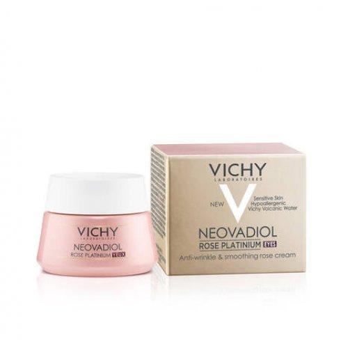 VICHY Αντιγηραντική Κρέμα Ματιών Για Σακούλες και Ρυτίδες Neovadiol Rose Platinum Eyes Cream 15ml
