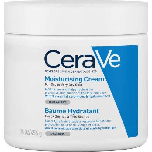 CeraVe Moisturising Cream Ενυδατική Κρέμα Προσώπου και Σώματος Ενυδατική κρέμα 454gr