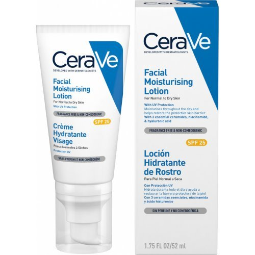 CeraVe Facial Moisturising Lotion Ενυδατική Κρέμα Προσώπου με SPF 25 52ml
