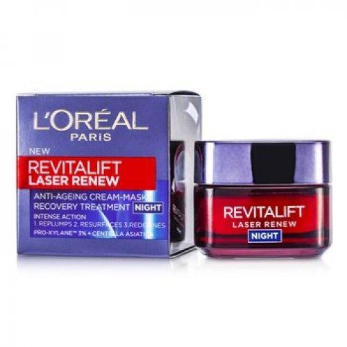 L'oreal Paris Revitalift Laser Renew Night Cream Αντιγηραντική Κρέμα Νύχτας, 50ml