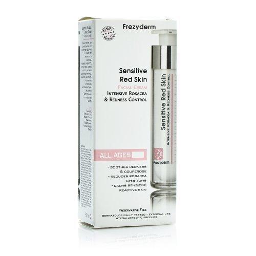 SENSITIVE RED SKIN FACIAL CREAM - Κρέμα για Ευαίσθητο Δέρμα - Ροδόχρου Νόσο 50ml