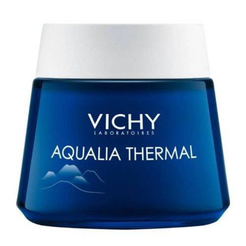 Vichy AQUALIA THERMAL NIGHT SPA Ενυδατική Φροντίδα Νυκτός και Μάσκα σε 1, 75ml