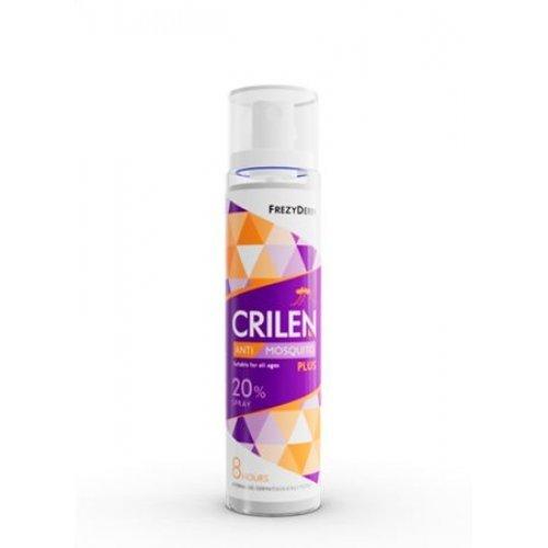 Frezyderm CRILEN Anti-Mosquito PLUS Εντομοαποθητικό Σπρέυ 20% 100ml