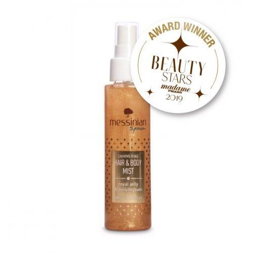 Messinian Spa Hair & Body Mist Shimmering Βασιλικός Πολτός & Ελίχρυσος Eau Fraiche 100ml