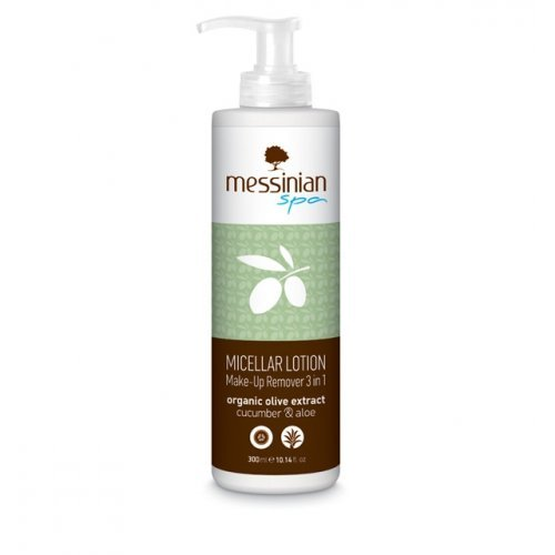 Messinian Spa Micellar Lotion Make-Up Remover 3 Σε 1 Με Αγγούρι & Αλόη 300ml