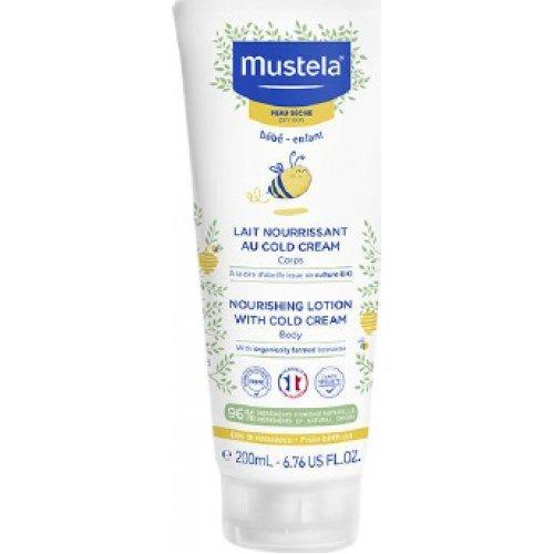 MUSTELA Κρέμα ενυδάτωσης προσώπου για ξηρό δέρμα 200ml - Nourishing lotion with Cold Cream 200ml