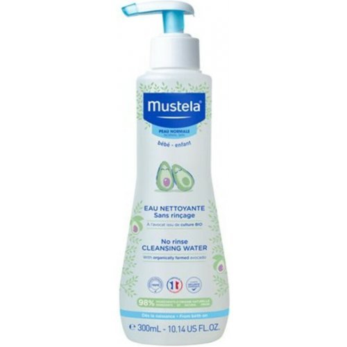 MUSTELA Νερό Καθαρισμού χωρίς ξέβγαλμα με Βιολογικό Αβοκάντο Cleansing Water-Normal Skin  300m