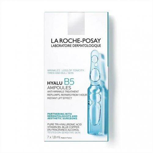 La Roche Posay Αμπούλες με Αντιρυτιδικό και Επανορθωτικό Συμπύκνωμα Hyalu B5 7x1.8ml