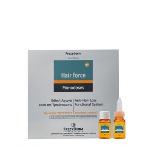 HAIR FORCE MONODOSES DAY / NIGHT Αγωγή Κατά της Τριχόπτωσης 14 x 10ml