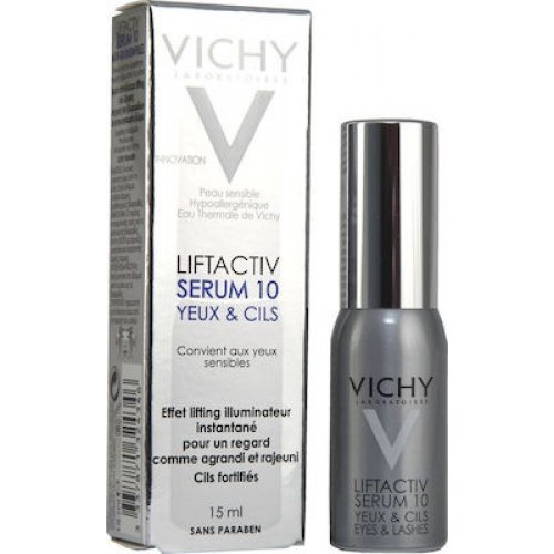 VICHY Ορός αναδόμησης για μάτια και βλεφαρίδες Liftactiv Serum 10 Eyes And Lashes 15ml