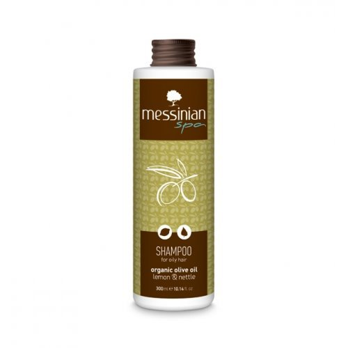 Messinian Spa Σαμπουάν Για Λιπαρά Μαλλιά Λεμόνι - Τσουκνίδα 300ml