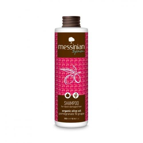 Messinian Spa Σαμπουάν Για Βαμμένα Μαλλιά Ρόδι - Σταφύλι 300ml