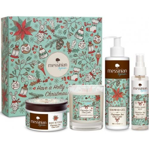 Messinian Spa Have A Holly Jolly Christmas! Chai Latte Gift Box