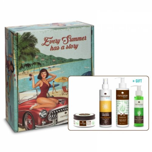 Messinian Spa Aquaholic Summer Essentials Every Summer Has A Story Vintage Box