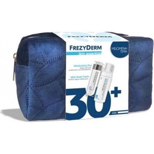 Frezyderm Skin Essentials Promo Moisturizing Plus Cream Ενυδατική Κρέμα (30+) 50ml & Mild Wash Foam Αφρός Καθαρισμού 150ml