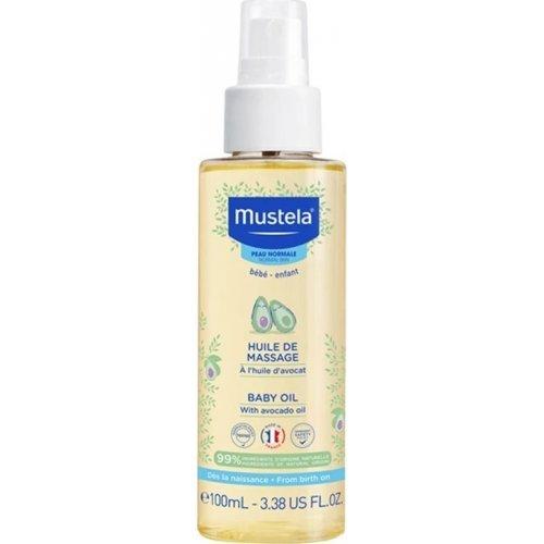 MUSTELA Λάδι για μασάζ 100ml - Baby Oil 100ml