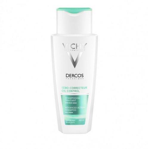 Vichy DERCOS Oil Control - Advanced Action Σαμπουάν για Λιπαρά Μαλλιά 200ml