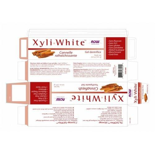 NOW XYLIWHITE™ CINNAFRESH TOOTHPASTE GEL 181ml