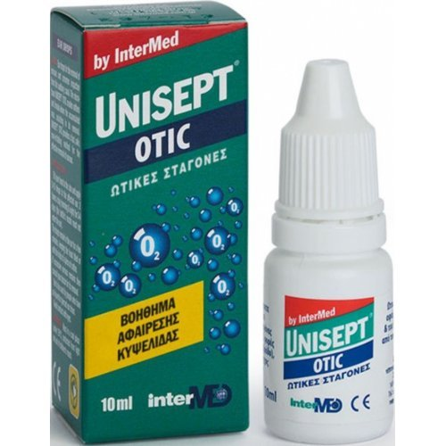 Intermed Unisept Otic Ωτικές Σταγόνες 10ml