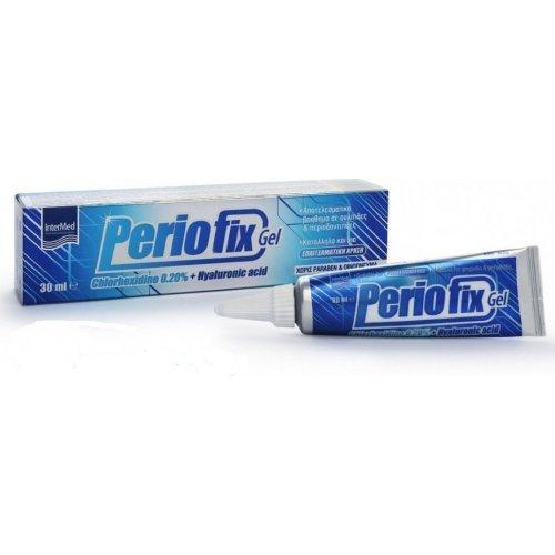 Intermed Periofix Gel 0.20% Στοματικό Τζελ Αποτελεσματικό για Ουλίτιδες και Περιοδοντίτιδες 30ml