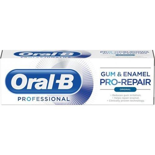 Oral-B Professional Gum and Enamel Pro-Repair Original Οδοντόκρεμα για μείωση των Ερεθισμών στα Ούλα 75ml